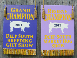Livestock Show Banners And Fair Awards Banners Exhibitor