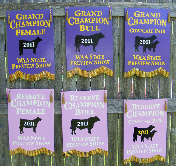 Livestock Show Banners And Fair Awards Banners Exhibitor Plaques And Banners
